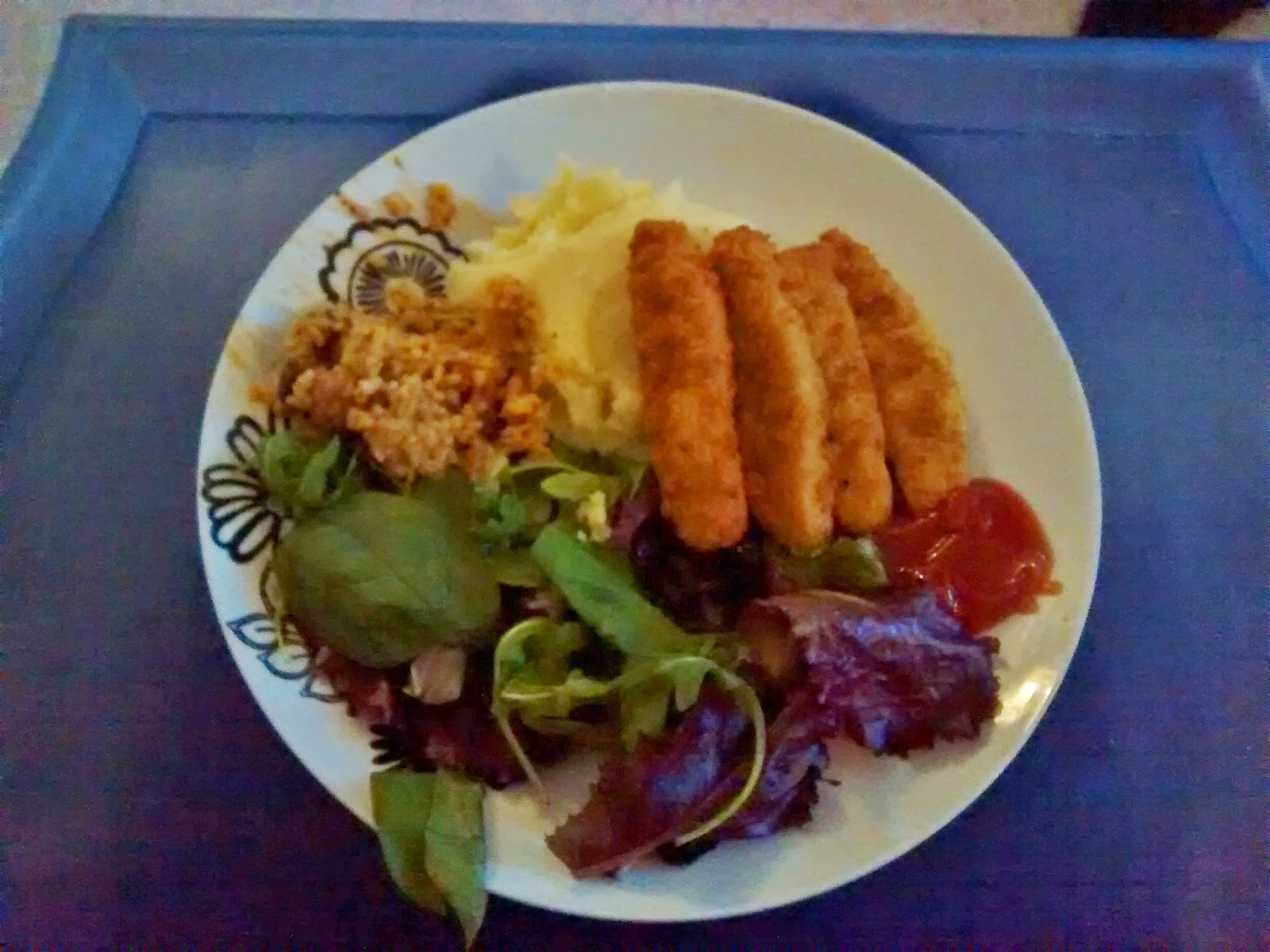 turkey goujons dinner meals