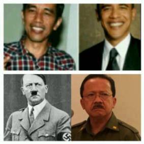 Jokowi vs Joke Mirip Pemimpin Dunia