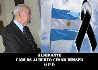 Muere el comandante de la Operacion Rosario BUSSER+2