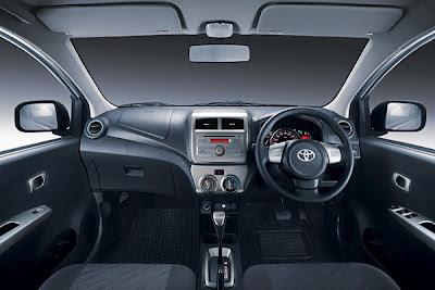 Toyota Agya masih seperti mobil keluaran TAM lainnya yang menggunakan