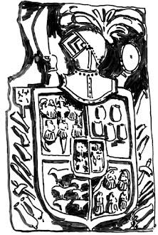 Escudo de El Palacio en Escoredo