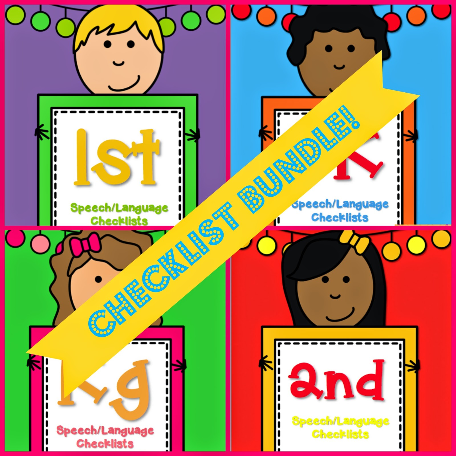 Speech & Language Checklists by All Y'all Need