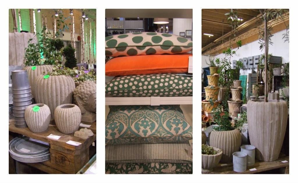 b-green, urtepotter beton,oldemors urtepotter,bedstemors urtepotter,bølgeurtepotter,riflede urtepotter,puder til terrassen, mønstrede puder, bungalow