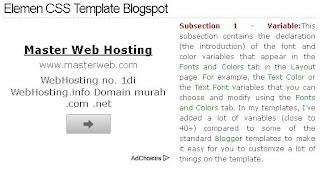 cara pasang kode iklan dikanan atau dikiri postingan blog