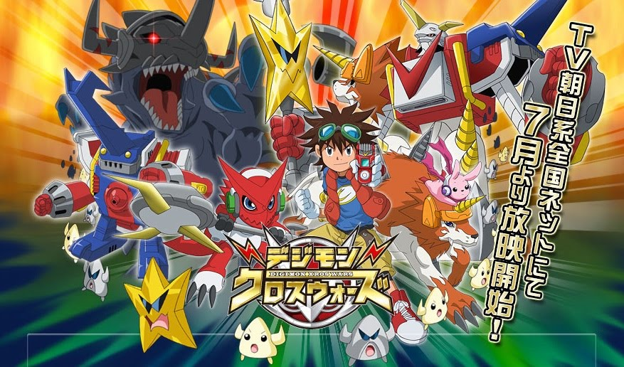 Digimon Xros War (Hunters) Descarga Mediafire y Imagenes