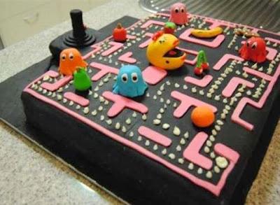 Bánh hình game Pacman