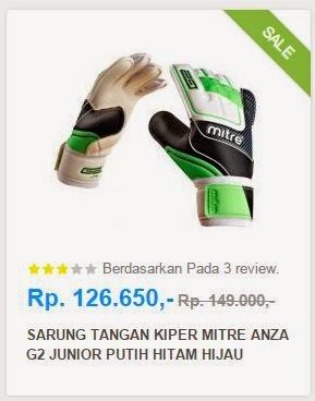 Sarung Tangan Kiper - Mitre.co.id Belanja Online Perlengkapan Futsal dan Bola