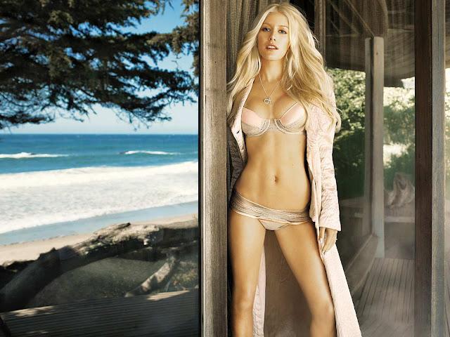 Heidi Montag - Bikini Wallpaper 2011