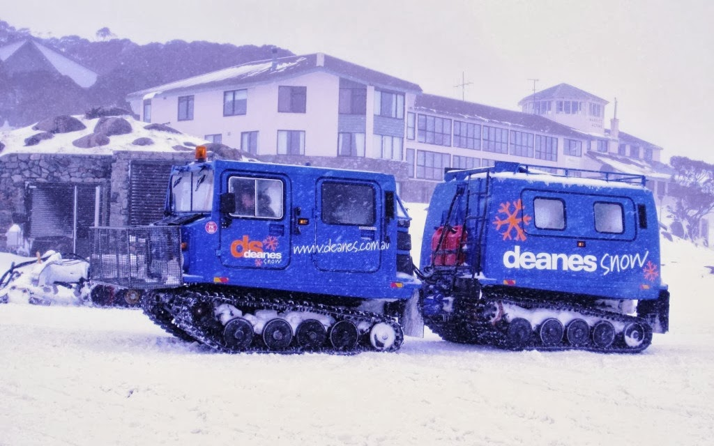 Australian alpine oversnow equipment hagglunds