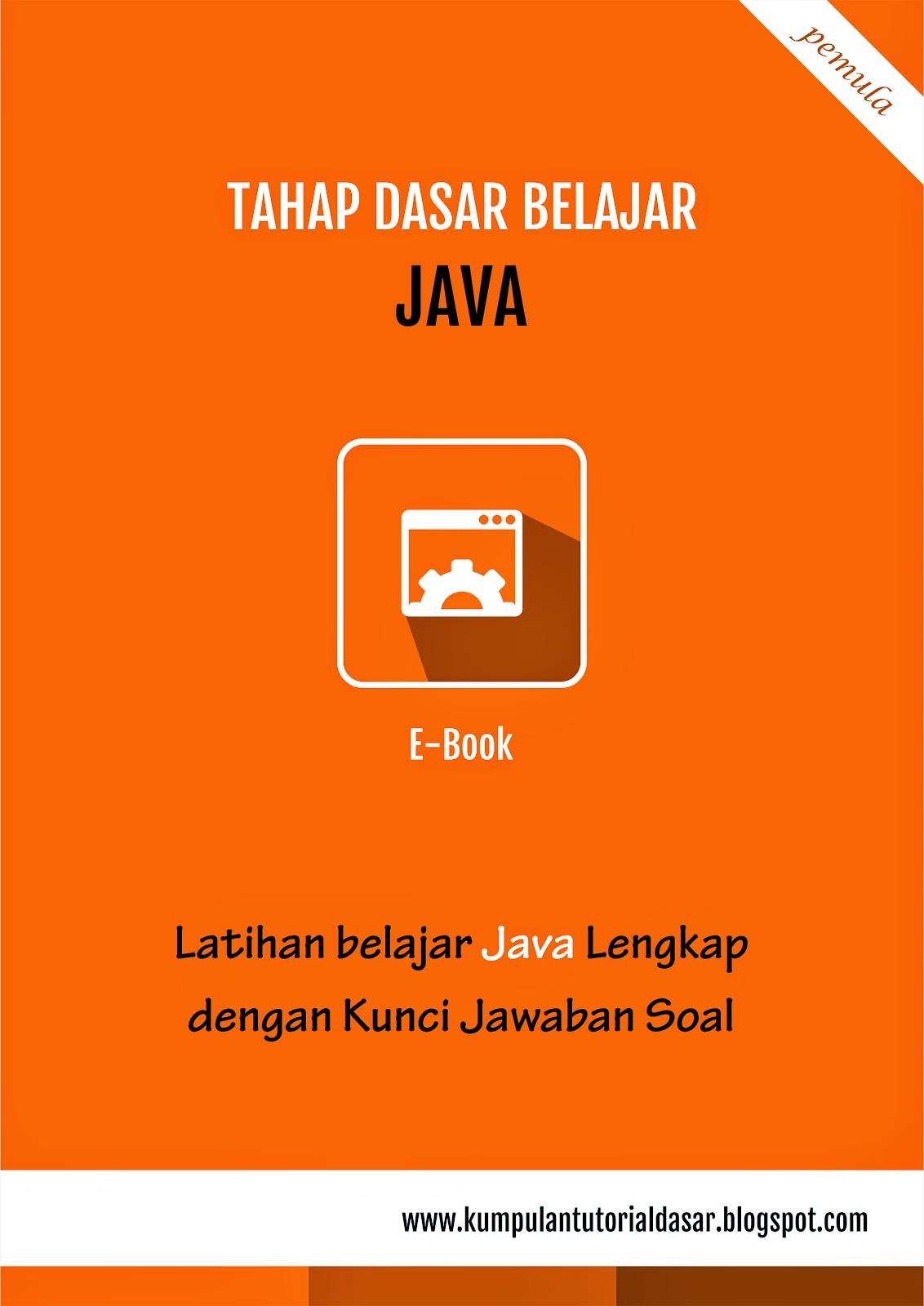 Latihan Java Lengkap Dengan Jawaban Soal Ebook Download Gratis Master Andro