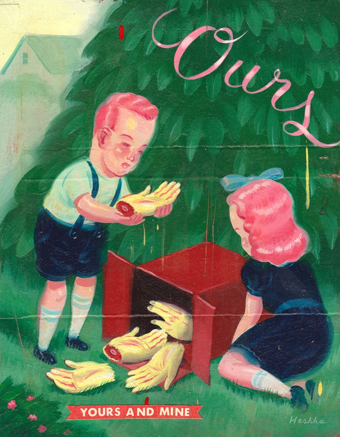 Doctor Ojiplático. Ryan Heshka. Pintura Pulp. Ilustración | Illustration