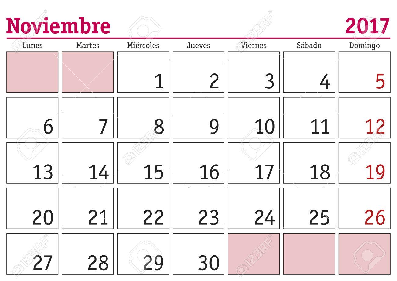 Calendario de actividades y pruebas