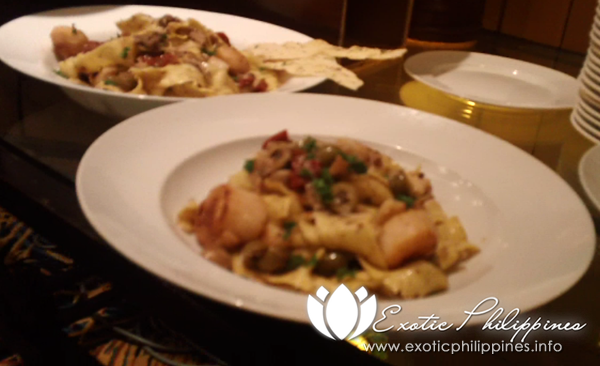 Jpark Island Resort and Waterpark Olive Restaurant Truffle Farfalle