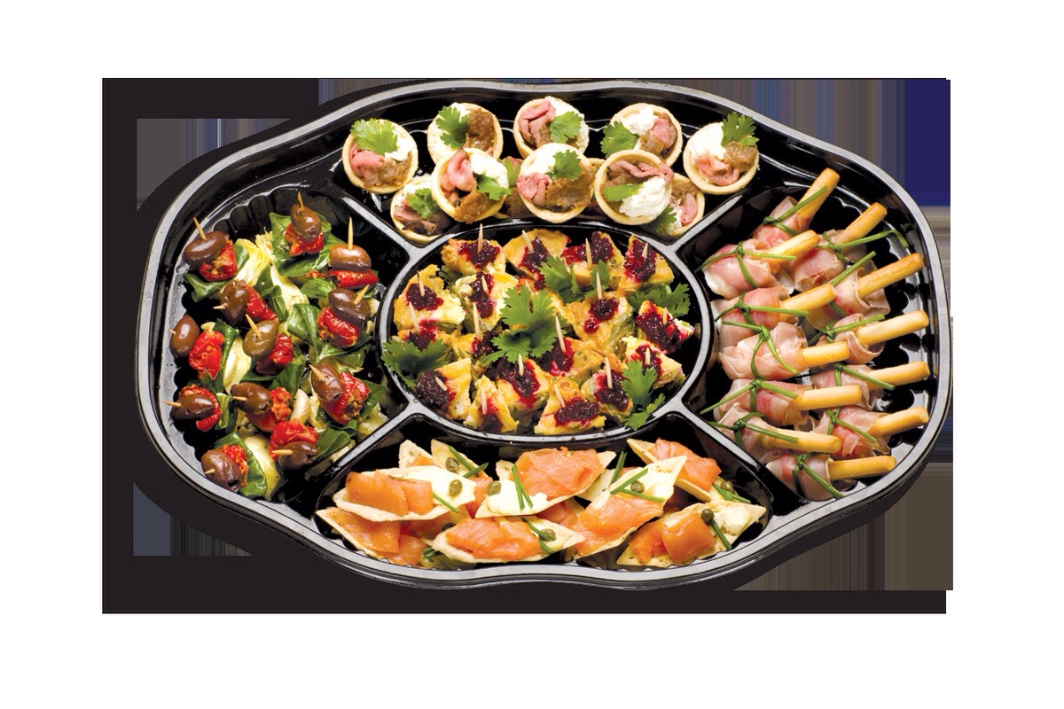 Thomas dux platters for Canape platters
