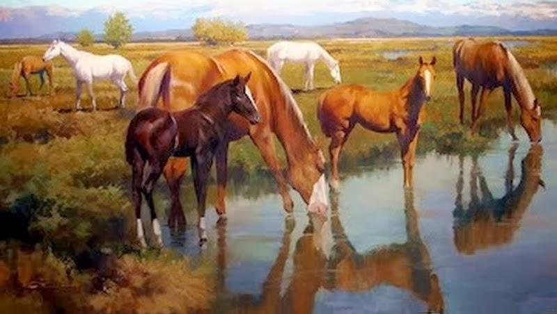 paisaje-con-caballos
