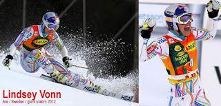 Lindsey Vonn obrovský slalom Åre