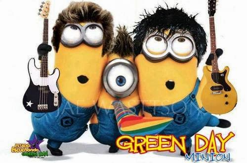 Minion's Banda Green Day