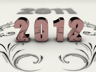 2012 3D Text  HD Desktop Wallpaper