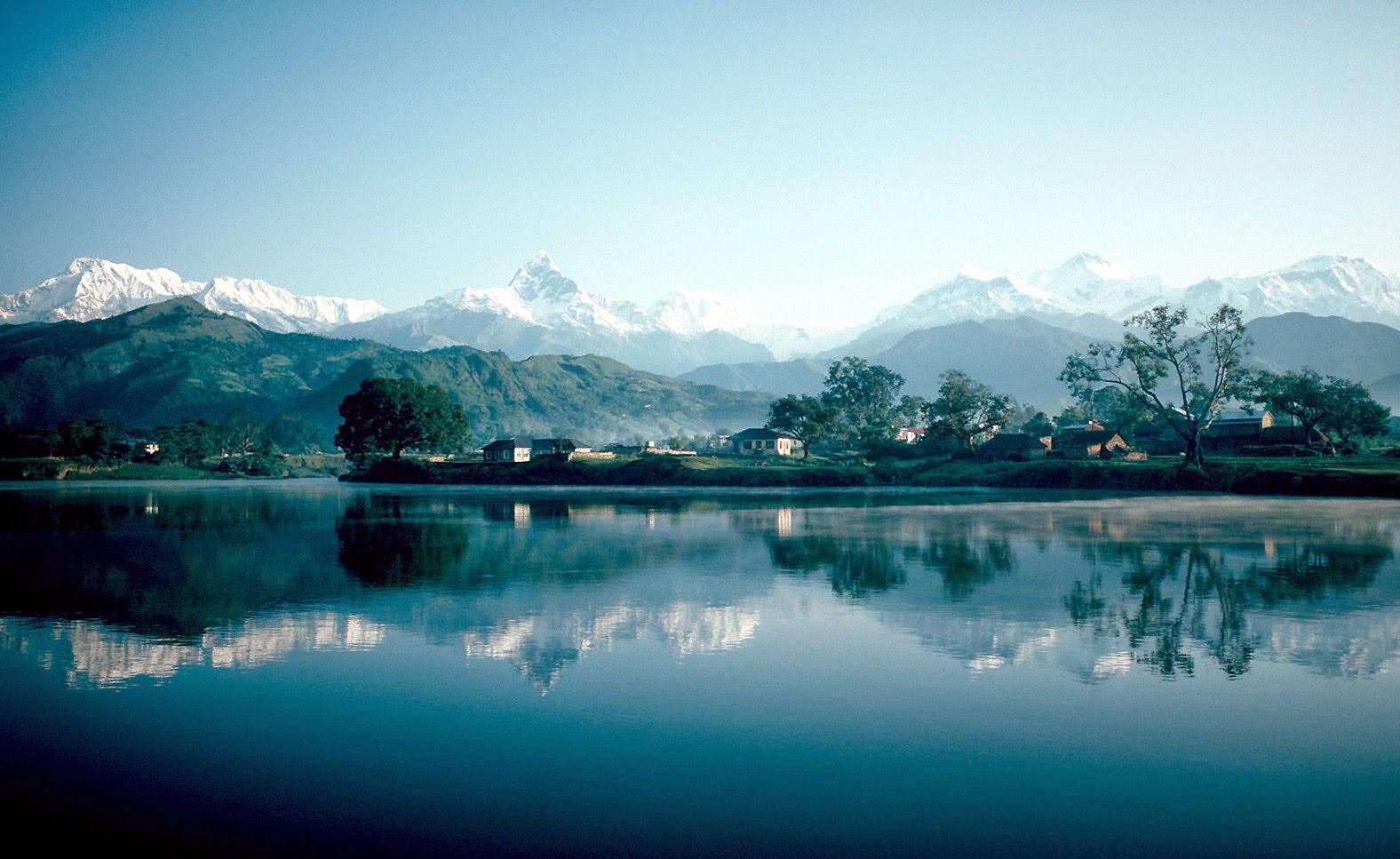 pokhara and phewa lake