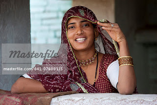 Indian Aunties and Girls: Rajasthani aunties