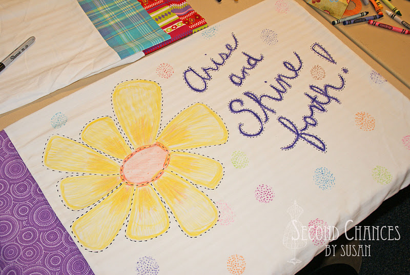 Second Chances By Susan Crayon Decorated Pillowcases Mesmerizing How To Decorate A Pillow