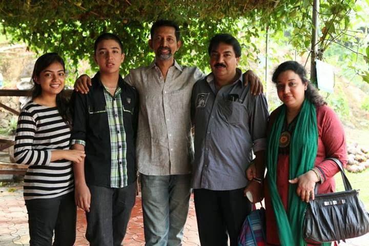 Actress Nazriya Nazim Family Photos Nazriya Nazim Family Vacation