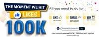 DXN Fans Contest : 100k Fans Giveaway