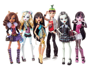 monster high e bratzillaz