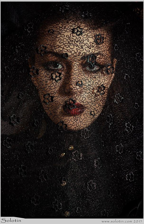 портрет, девушка, ткань, вуаль, тамбов, студия