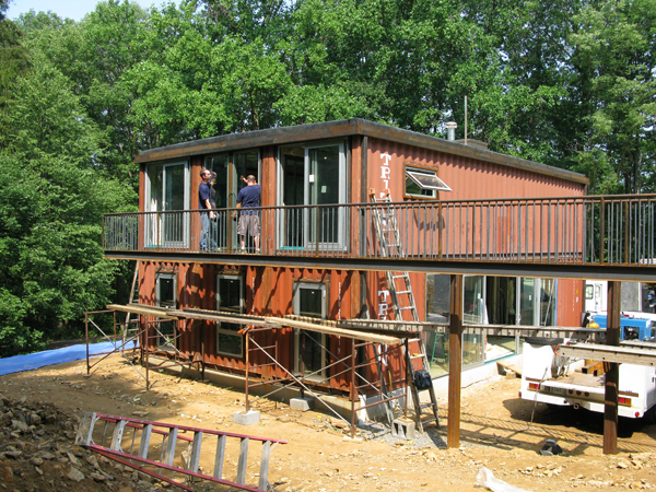 Shipping container homes quik build bernardsville nj Shipping container home builders