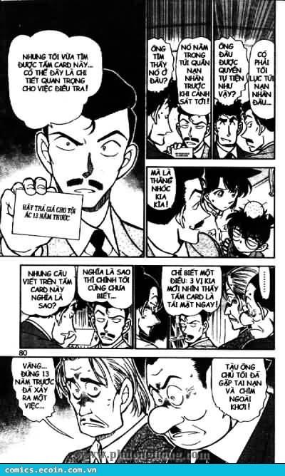 Detective Conan - Thám Tử Lừng Danh Conan chap 495 page 6 - IZTruyenTranh.com
