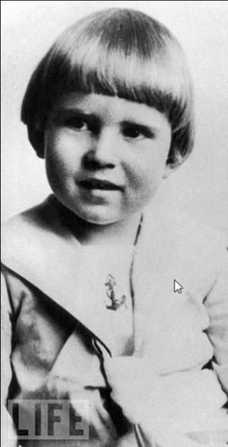 Richard Millhouse Nixon, 4 Years Old, 1917