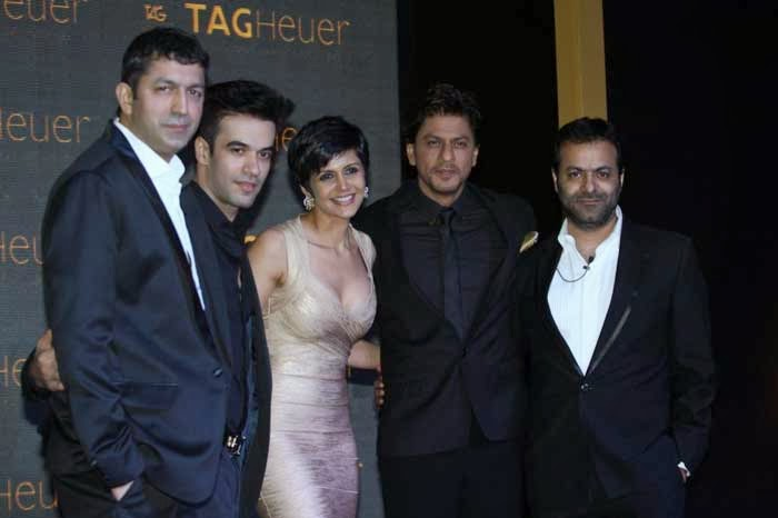 Celebs at Launch of Tag Heuer`s Golden Carrera collection