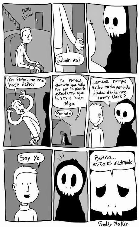 La muerte comic