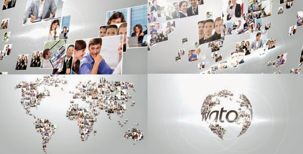 VideoHive Multi Video Corporate World Logo Revealer