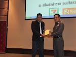 รับโล่รางวัลภาพข่าวยอดเยี่ยมอันดับ 1 สมาคมนักข่าวอาชญากรรมแห่งประเทศไทย