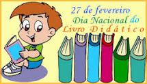 27/12 - DIA NACIONAL DO LIVRO DIDÁTICO