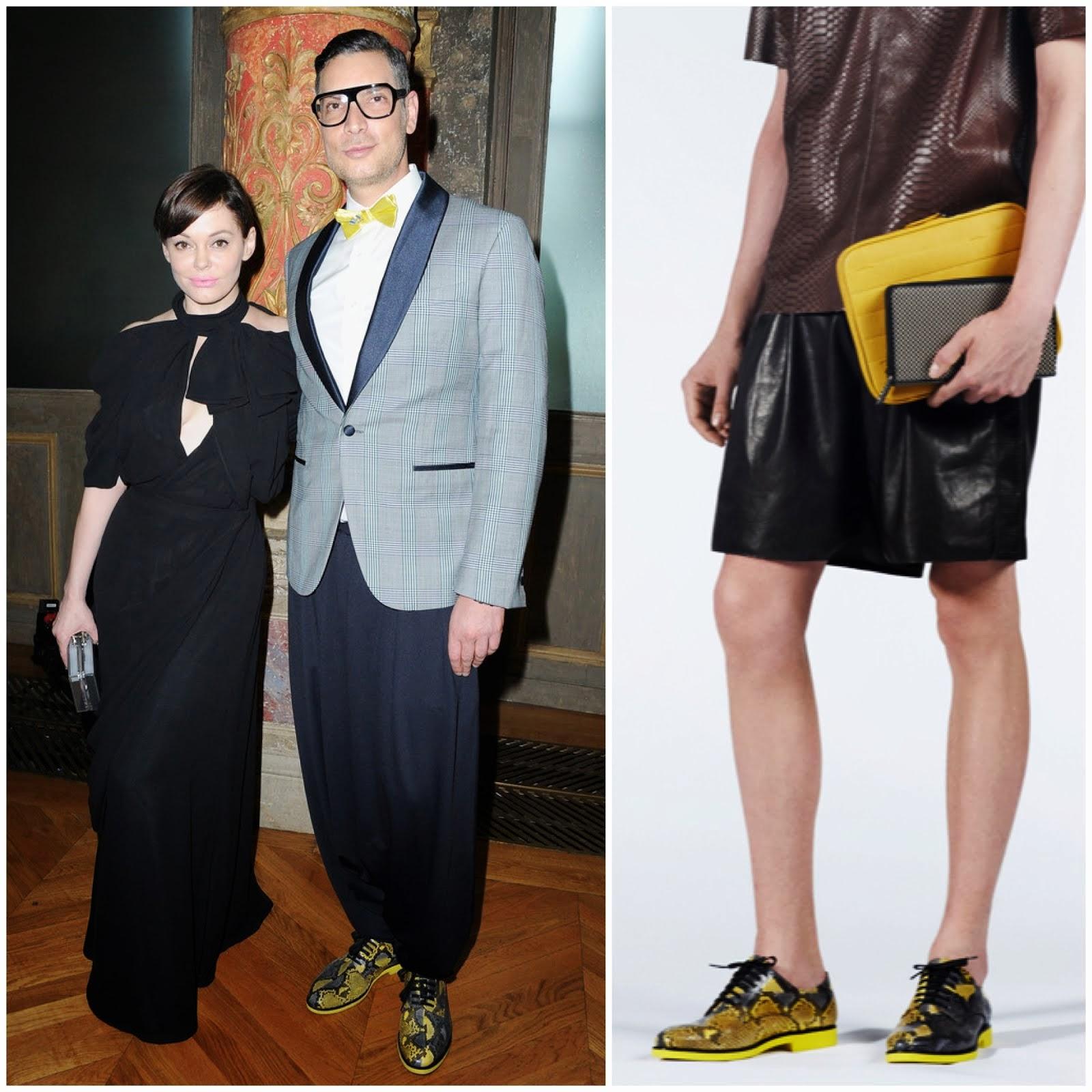 00O00 Menswear Blog: Cameron Silver at Viktor Rolf Couture Fall Winter 2013