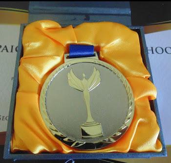 ¡Victory Medal 2016 para mi tesis doctoral!