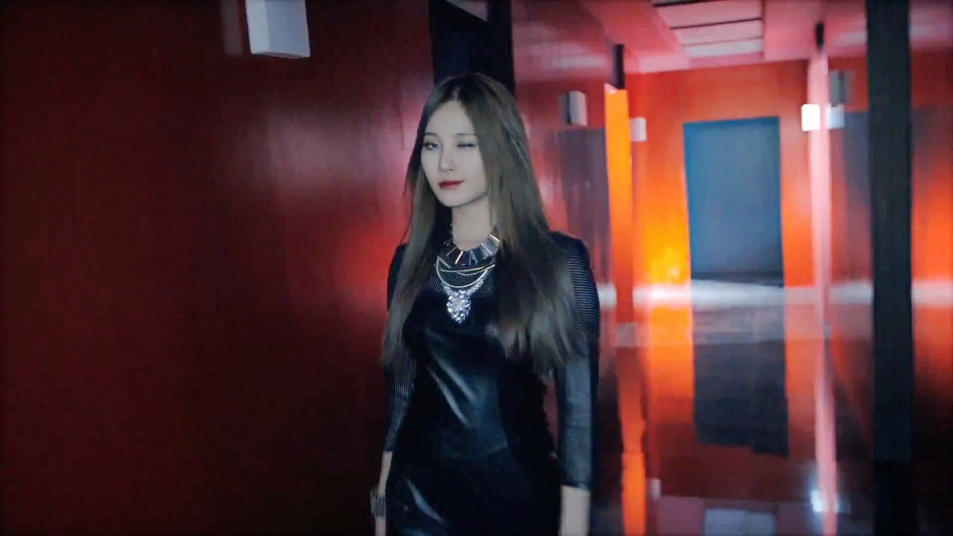 Girl's Day's Yura in Hello Bubble Teaser