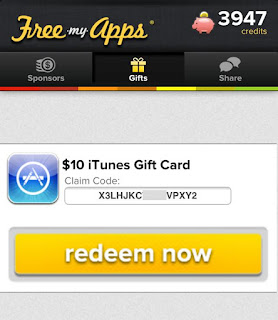 FREE itunes gift card by FREE MY APPS | Free itunes gift card