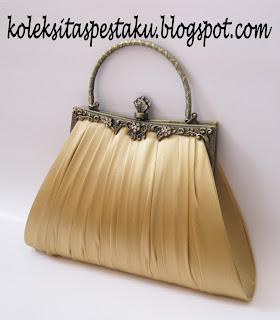 Cantik Mewah Tas Pesta Clutch Bag Handmade