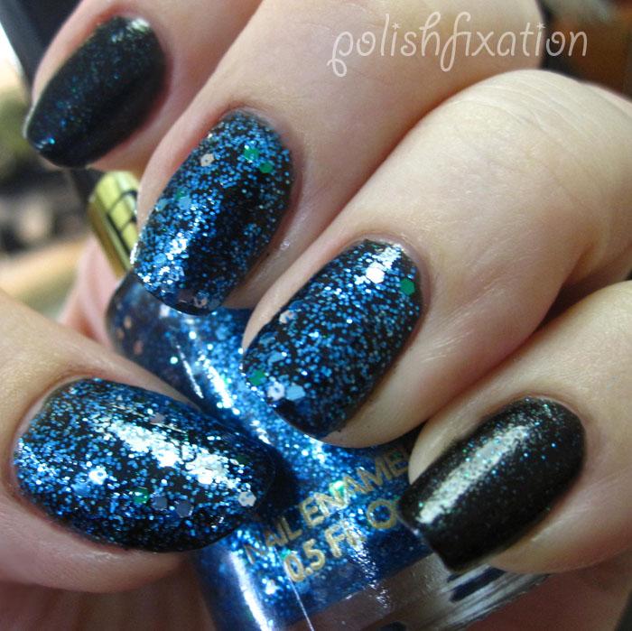polish fixation: Blue Monday: Revlon Blue Mosaic