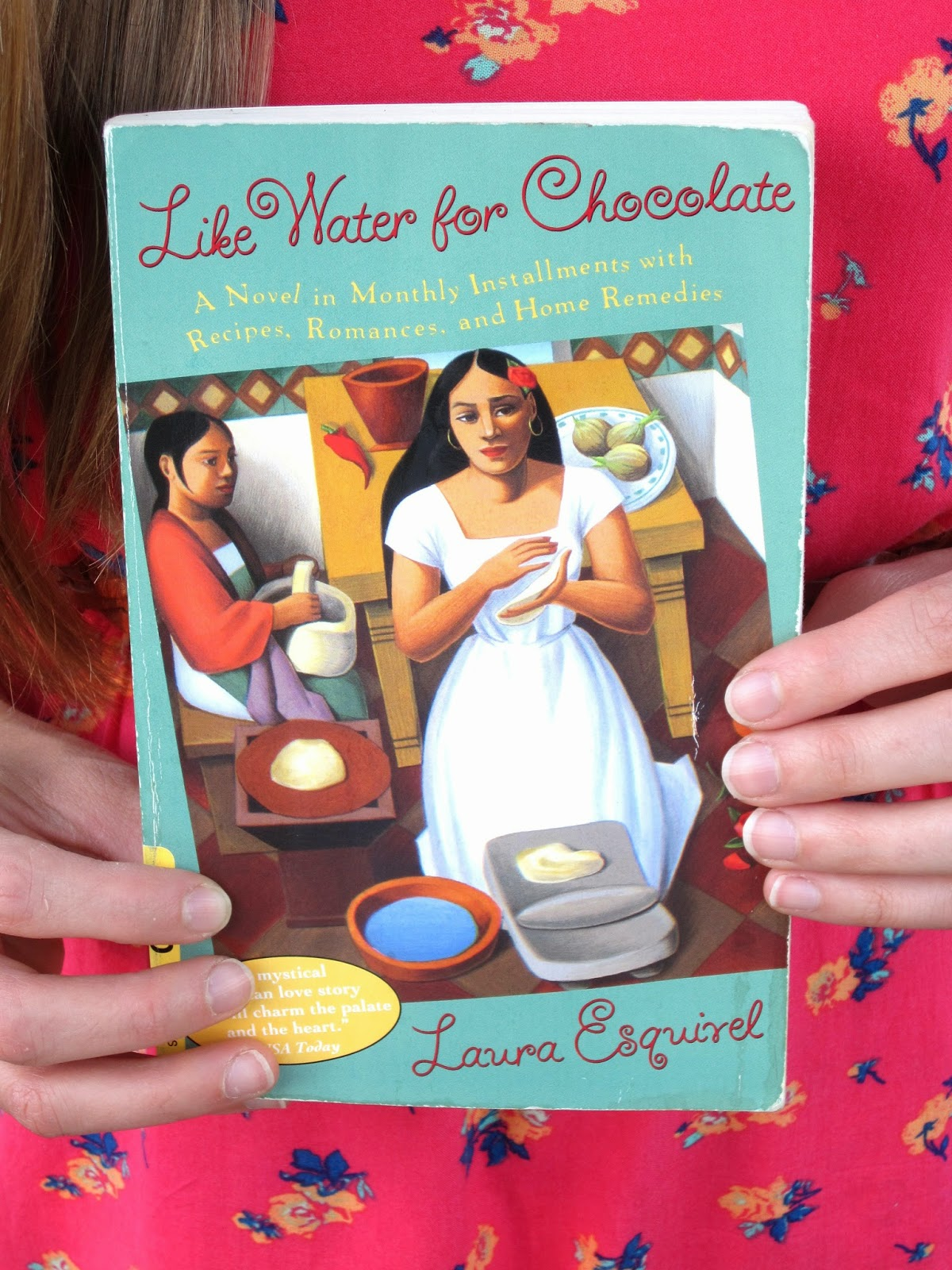 heroine jones: Review: Like Water for Chocolate by Laura Esquivel