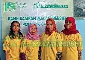 Bank Sampah Melati Bersih Pondok Cabe Ilir