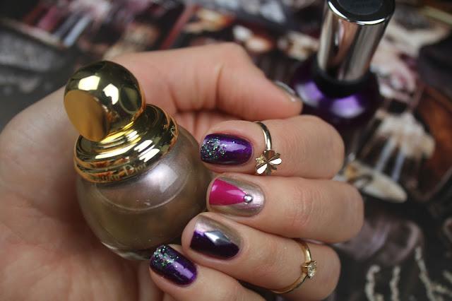 dior diorific 227 gris or nail design