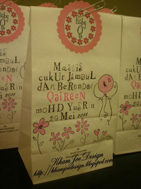 Door gift untuk majlis cukur jambul di malaysia 2015 for Idea door gift cukur jambul