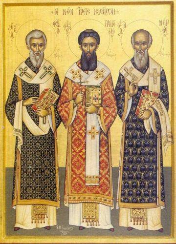 Commemoration of Basil the Great of Caesarea, Gregory of Nazianzus and Gregory of Nyssa