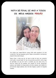 NOTA FINAL DE ANO DA PASTORA ELIANE A TODOS