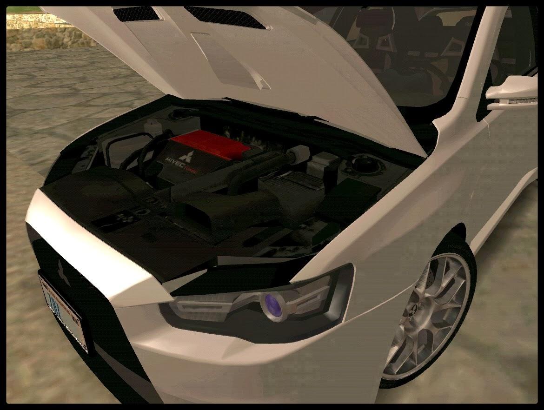 GTA SA - Mitsubishi Evo X Stock